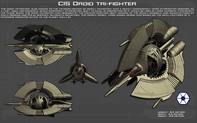 Droid Trifighter ortho [New]
