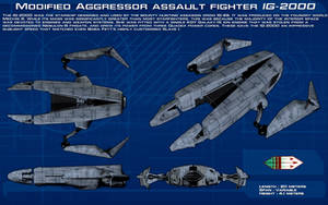 Aggressor assault fighter IG-2000 ortho [New] by unusualsuspex