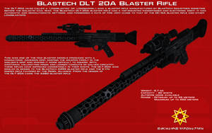 DLT 20A blaster rifle tech readout [1][New] by unusualsuspex