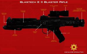 E 11 blaster rifle tech readout [2][New] by unusualsuspex