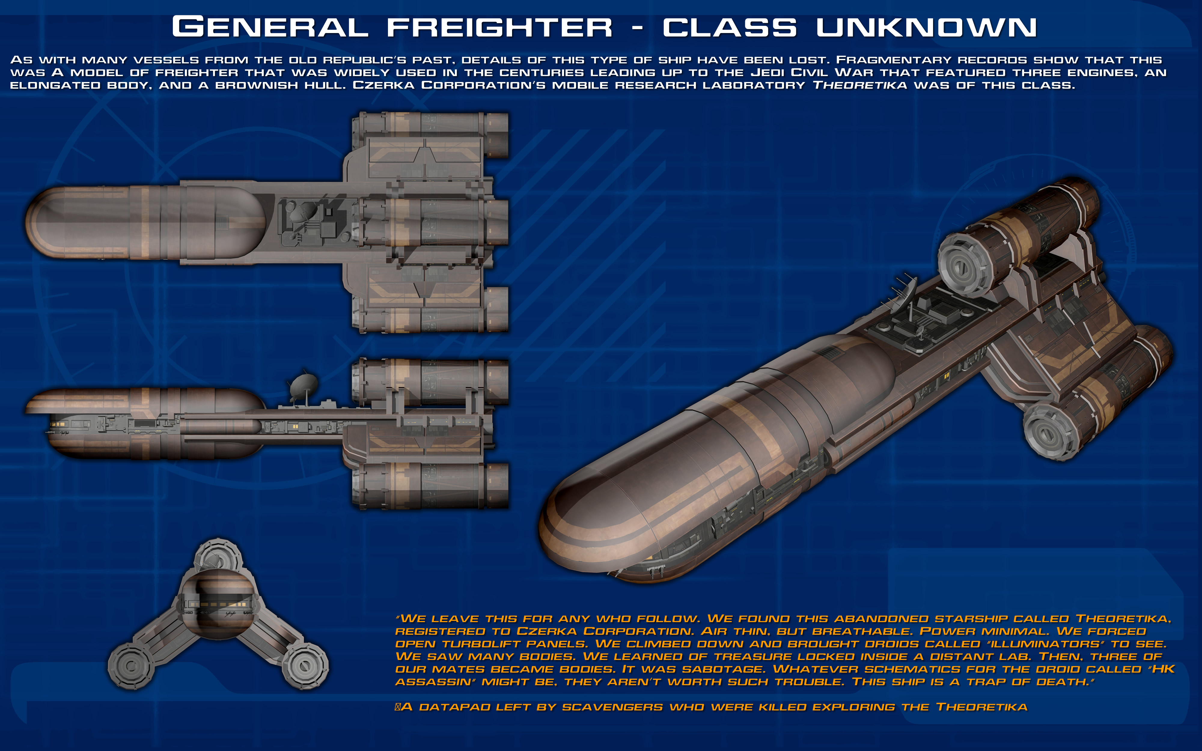 General Freighter Class Unknown Ortho New By