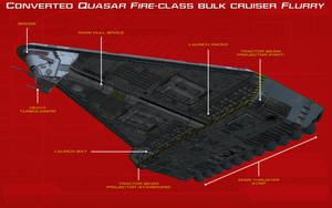 Converted Quasar Fire-class Flurry Tech Readout by unusualsuspex