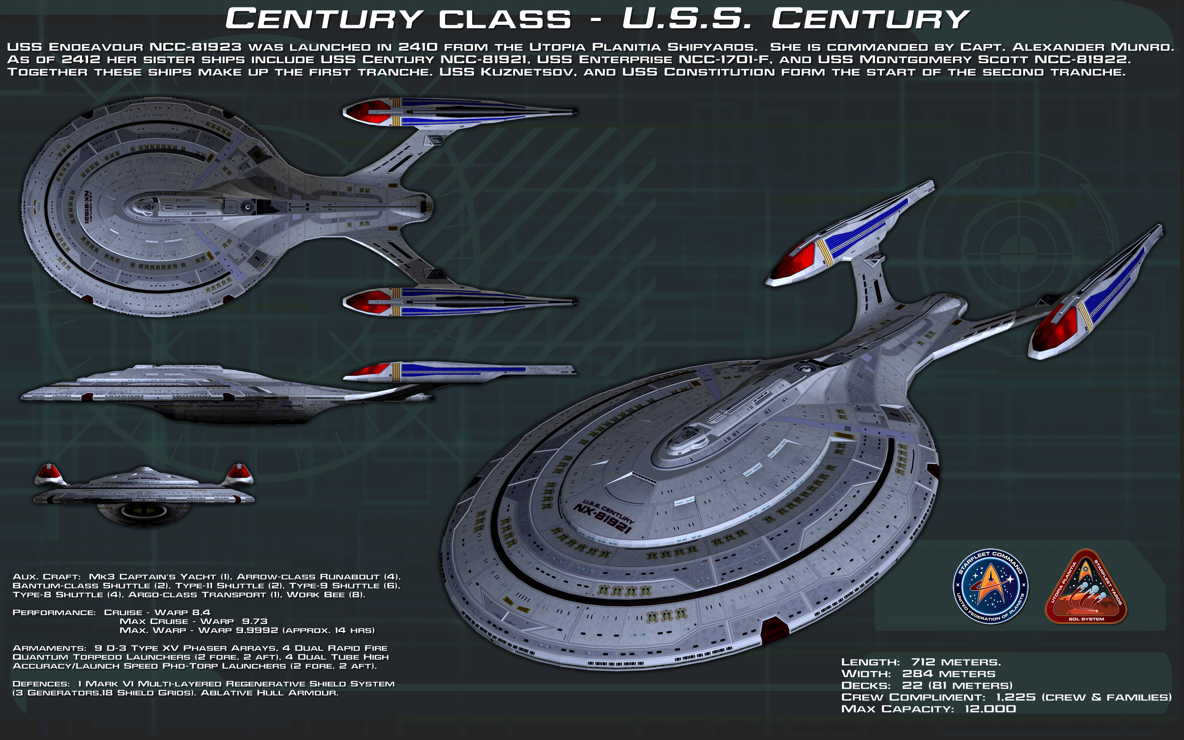 Century Class ortho [New] [Commission for Anno78] by