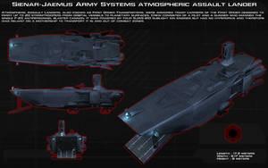 First Order Atmospheric Assault Lander ortho [New] by unusualsuspex