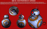 BB-8 Astromech droid ortho [New]