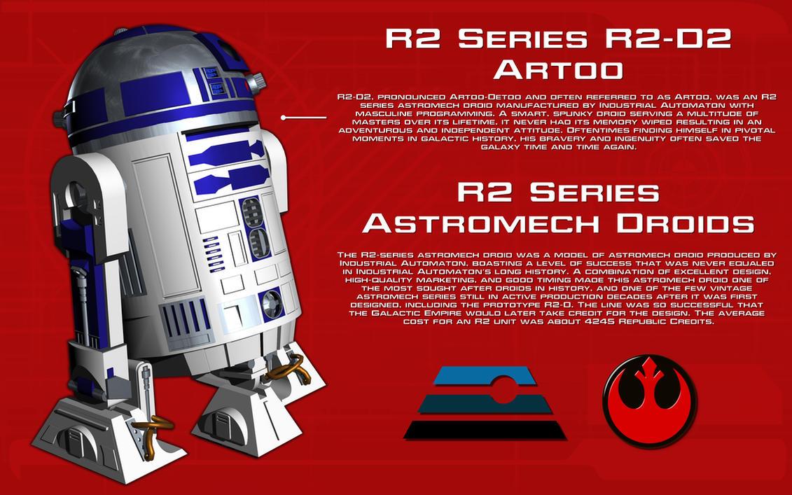 R2 Series Astromech droid tech readout [New] by unusualsuspex