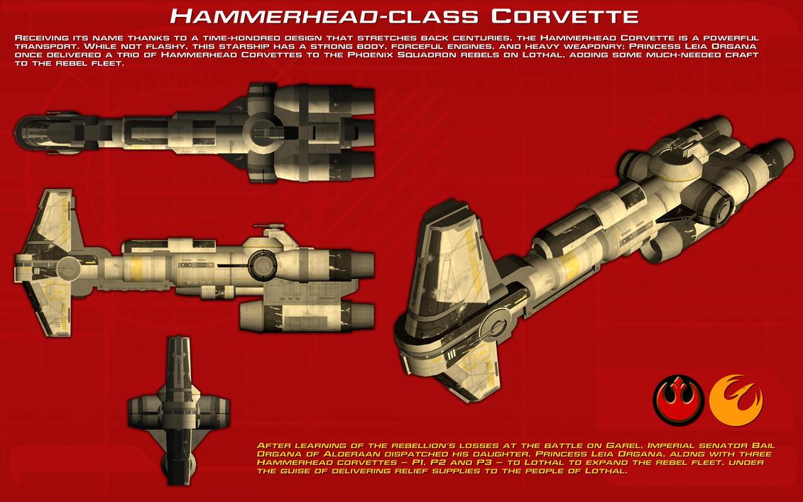 Hammerhead-class Corvette ortho [New] by unusualsuspex