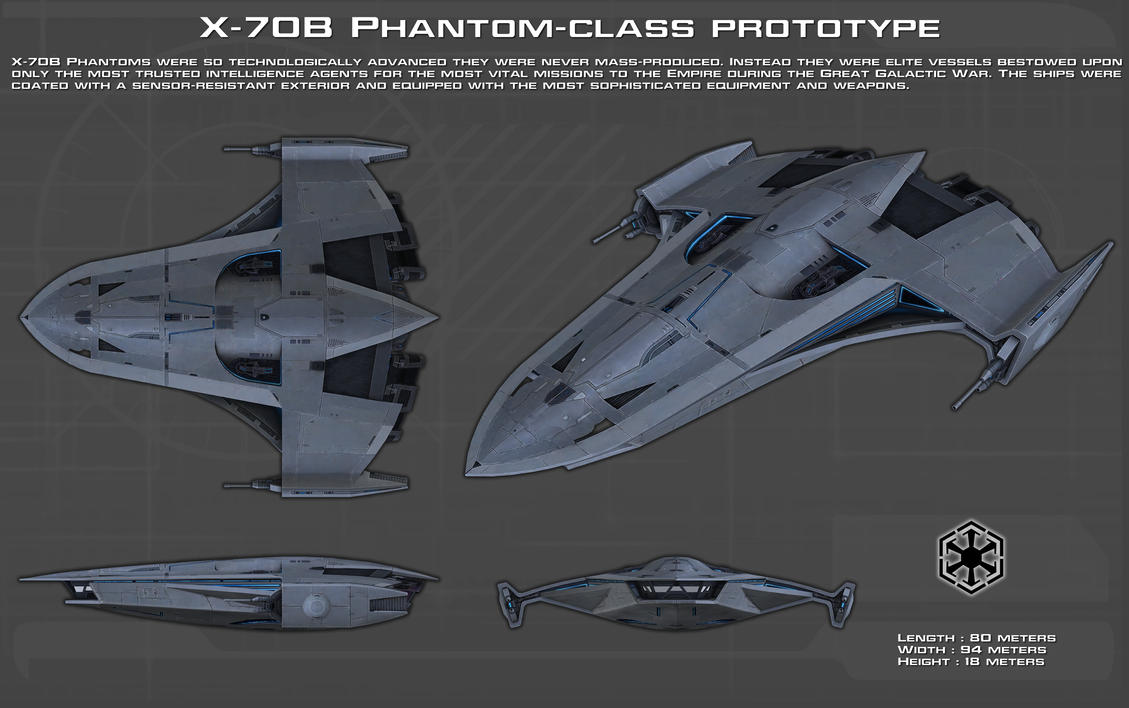 X 70b Phantom Class Prototype Ortho New By Unusualsuspex