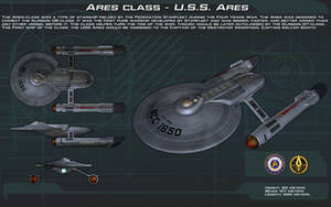 Ares Class - USS Ares ortho [New] by unusualsuspex