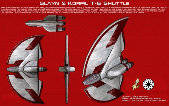 T-6 Shuttle ortho [New]