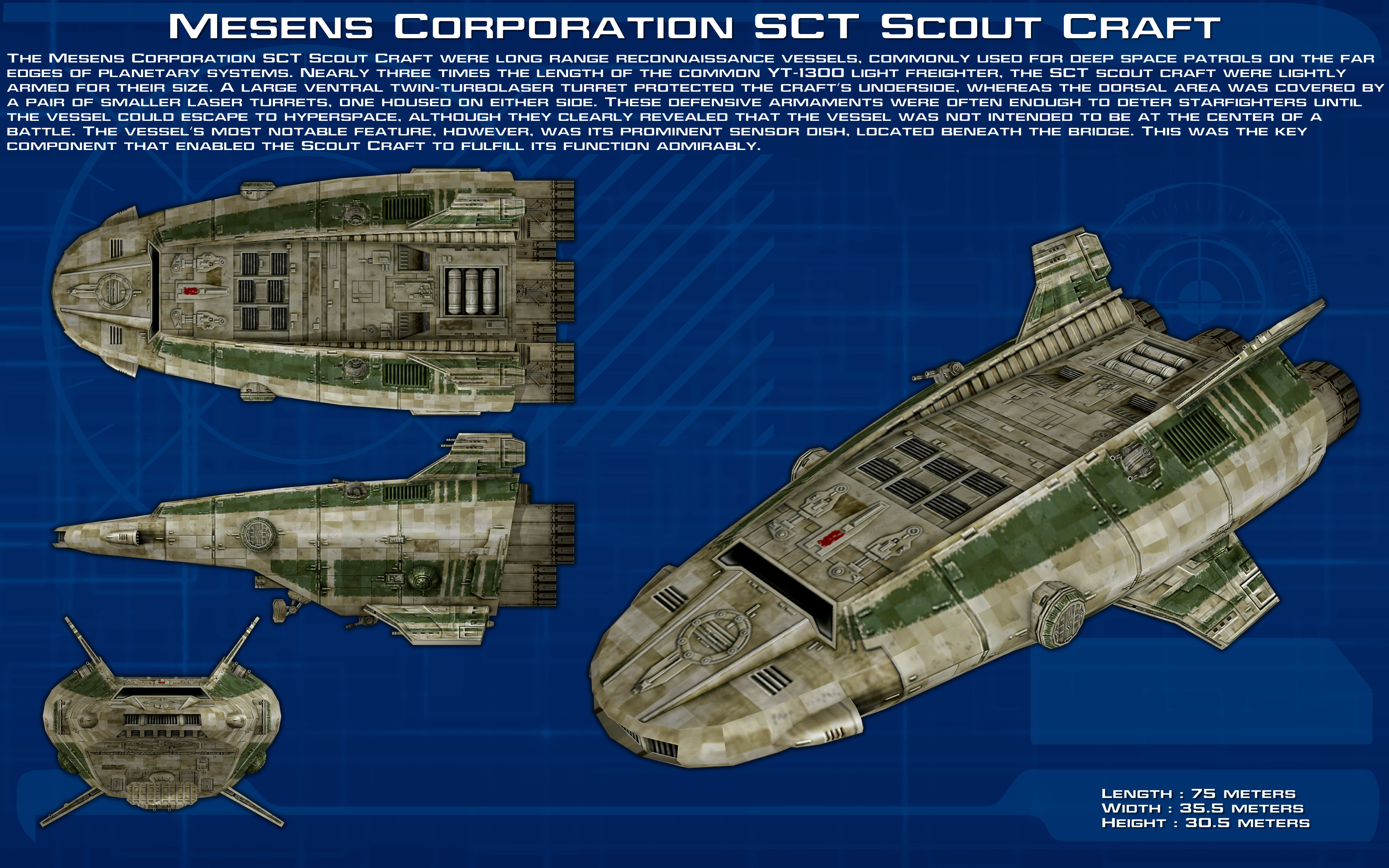Mesens Corporation SCT Scout Craft ortho [New] by unusualsuspex