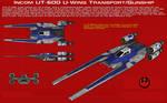 UT-60D U-Wing Transport-Gunship ortho [1][New]