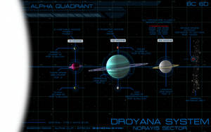 Droyana System display [Commission] by unusualsuspex