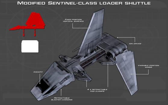 Sentinel-class loader shuttle tech readout [New]