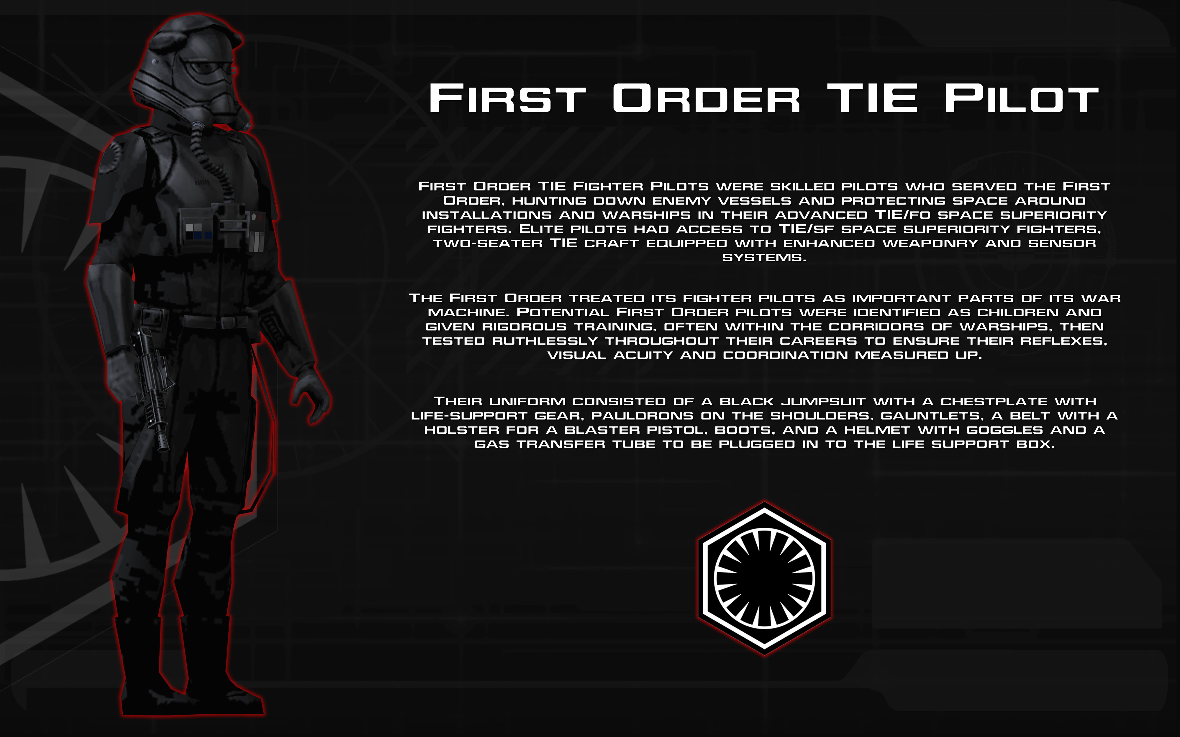 Star Wars First Order Tie Fighter Wallpaper