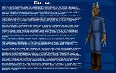 Gotal species readout [New] by unusualsuspex