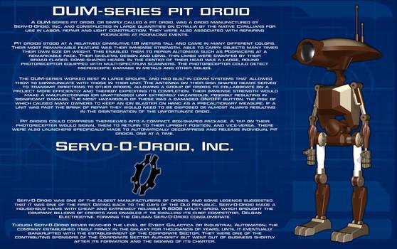 DUM-series pit droid tech readout [New]
