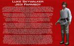 Luke Skywalker character bio [1][New]