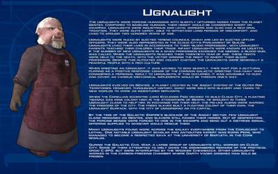 Ugnaught species readout [New] by unusualsuspex