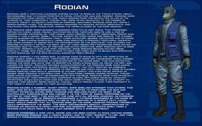 Rodian species readout [New] by unusualsuspex