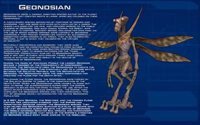 Geonosian species readout [New] by unusualsuspex