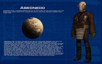 Abednedo species readout [New] by unusualsuspex