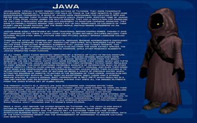 Jawa species readout [New] by unusualsuspex