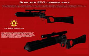 BlasTech EE-3 Carbine Rifle tech readout [New] by unusualsuspex