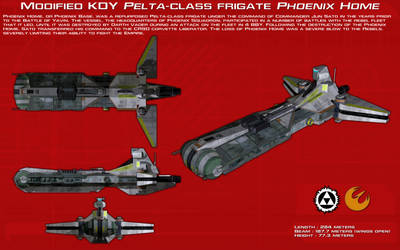 KDY Pelta-class frigate Phoenix Home ortho [New] by unusualsuspex