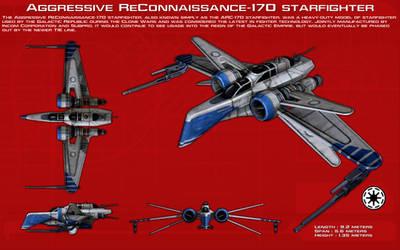 Aggressive ReConnaissance-170 starfighter [Update]
