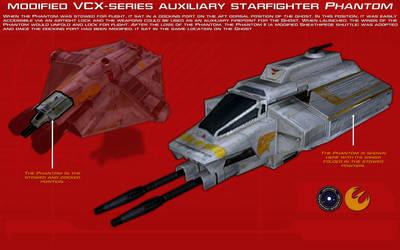 VCX-series auxiliary starfighter Phantom ortho [2] by unusualsuspex