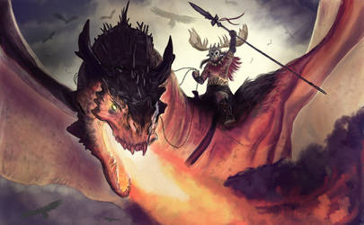 Dragon knight of the apocalypse