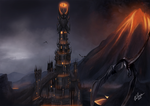Barad dur : Lord of the rings