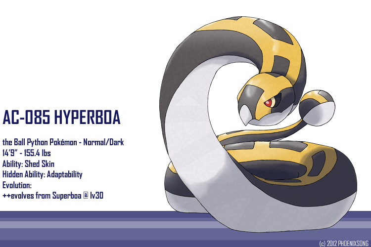 Hyperboa by phoenixsong