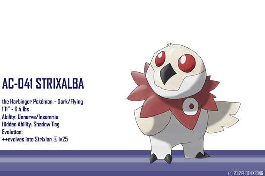 Strixalba