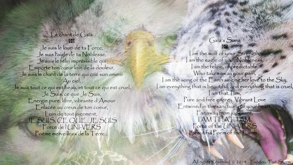 Le chant de Gaia - Gaia's Song by Faedou