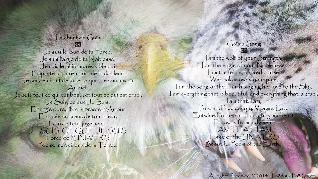 Le chant de Gaia - Gaia's Song by BlueFaedou