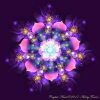 Crystal Heart - Mandala