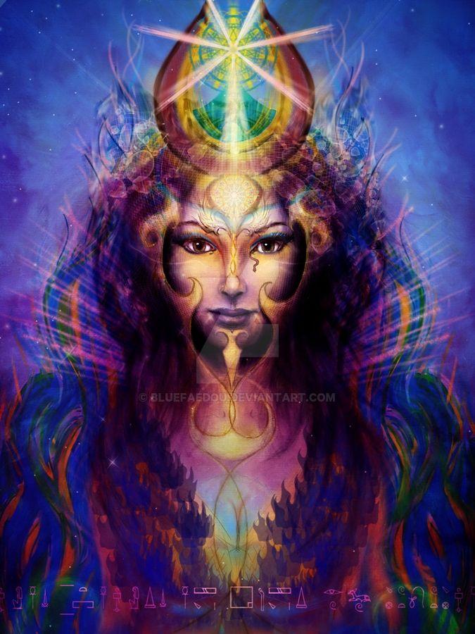 Hathor (new version) by BlueFaedou