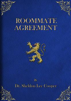 Hardcover Roommate Agreement