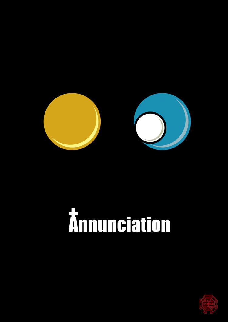 Bible Bubble: Annunciation by Thothhotep