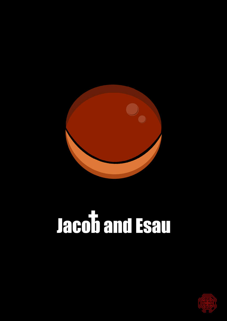 Bible Bubble: Jacob and Esau by Thothhotep