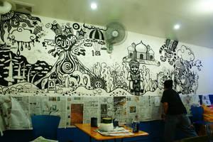 Main Man Mural by Didaemus