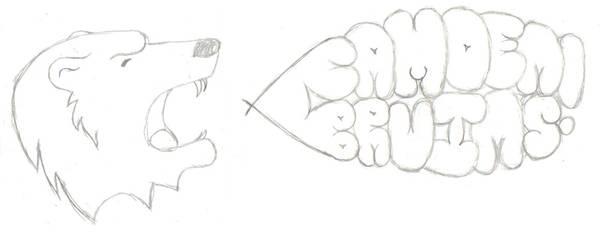 Sketch of Lockerroom Design by ShannD