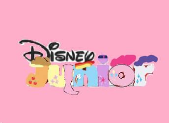 Disney Junior Logo: MLP: FiM by cartoonfanboyone