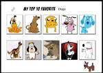My Top 10 Favorite Dogs