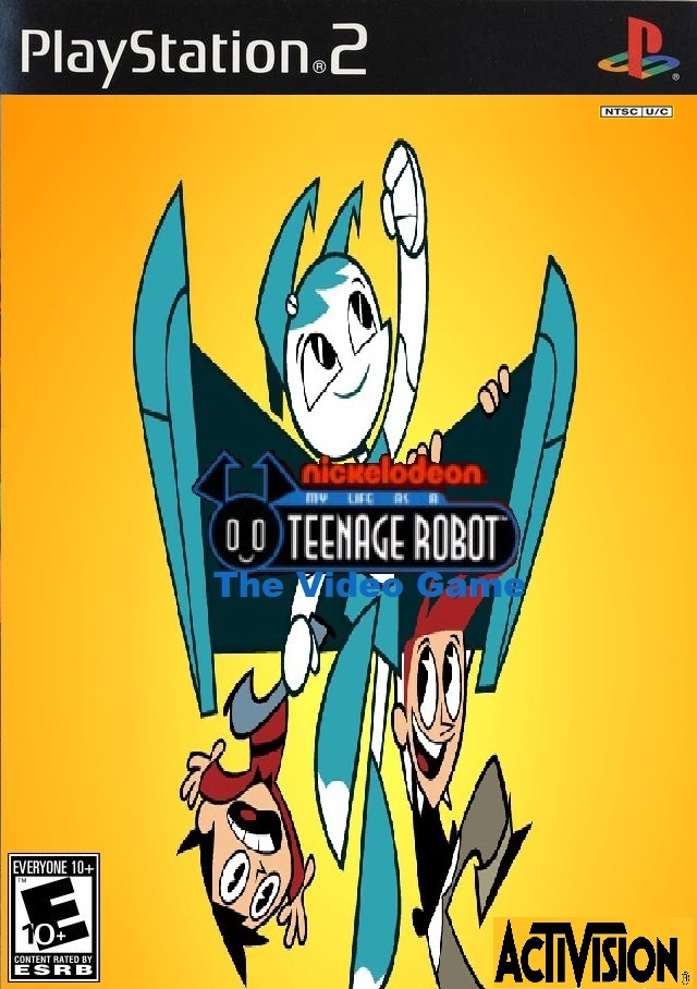 Mlaatr the video game by cartoonfanboyone on deviantart for My life as a teenage robot opening