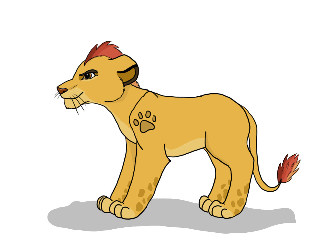 Kion Coloured by fireg