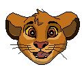 Pixel Simba by fireg