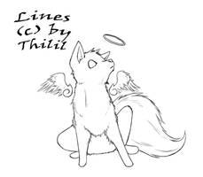 Free Lines - Angel Wolfie